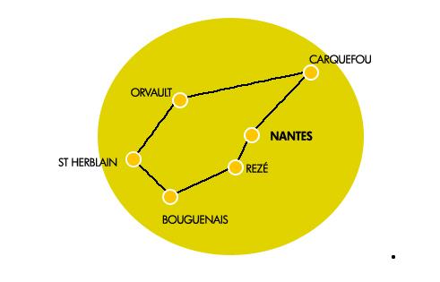 Zone de livraison Loire Atlantique Nantes