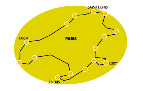 zone livraison paris