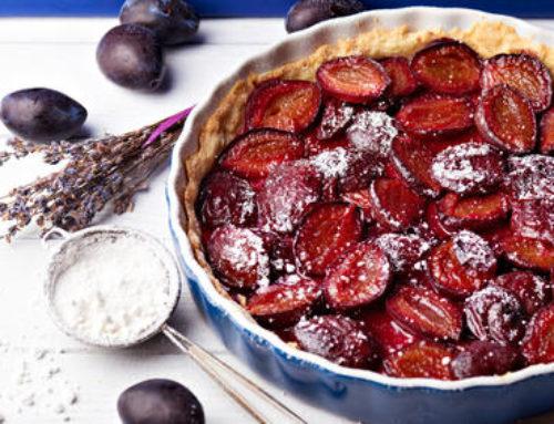 Recette ! La tarte aux prunes des Vergers de Gally