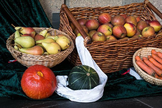 10 fruits et légumes