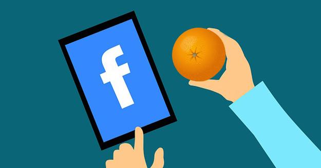 facebook + orange